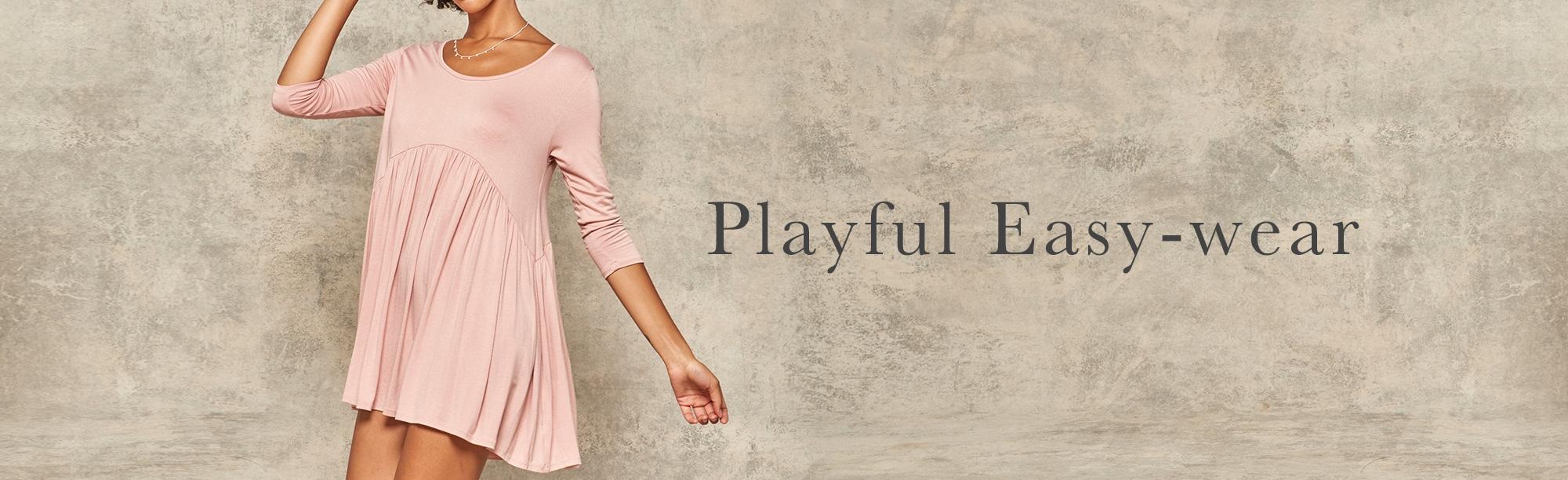 Playful Easy-wear